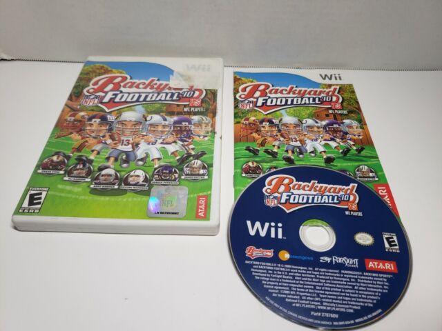 Backyard Football '10 (Nintendo Wii, 2009) Complete CIB ...