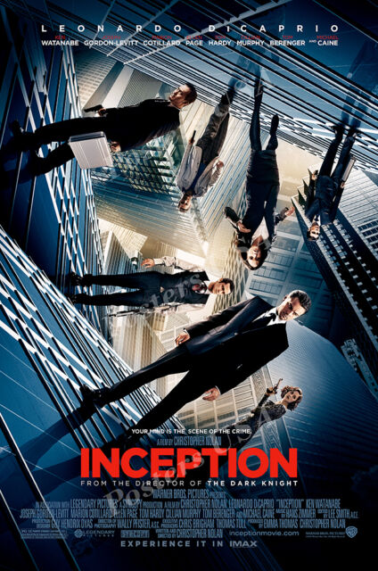 Posters USA - Inception Movie Poster Glossy Finish - FIL441