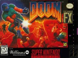 Doom-SNES-Great-Condition-Fast-Shipping
