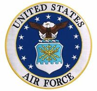 Usaf United States Air Force Motorcycle Biker Uniform Patch