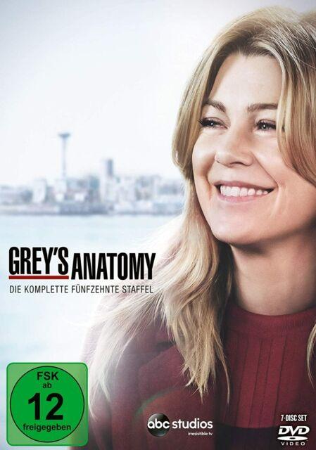 Grey's Anatomy Die jungen Ärzte DVD Die komplette fünfzehnte 15. Staffel Greys