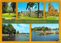 AK, Berlin Friedrichshagen, fünf Abb., u.a. Werlseestr., 1984