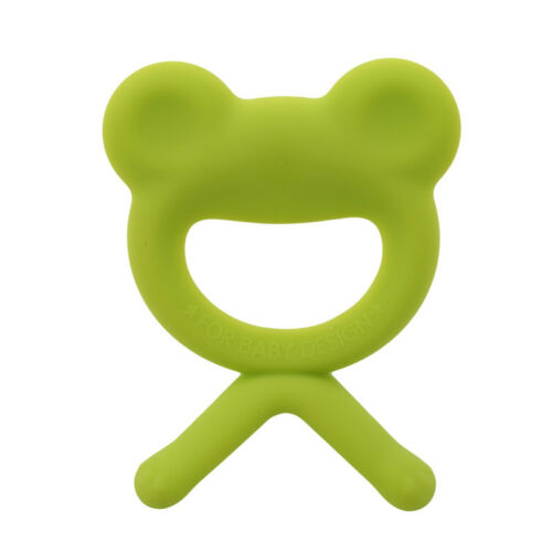 Baby Infant Teether Teething Ring Food Grade Safety Silicone Feeder Toys G