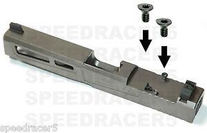 ■2 Short Screws Trijicon RMR SRO Mounting Red Dot Sight Glock ZEV Hex Keys