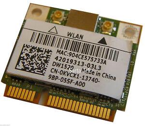 Dell-Wireless-OEM-DW1520-KVCX1-dual-band-802-11n-BCM43224-PCIe-Half-BCM943224HMS