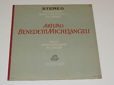 ARTURO BENEDETTI MICHELANGELI RACHMINOFF CONCERTO NO 4 IN G MINOR /RAVEL G MAJOR
