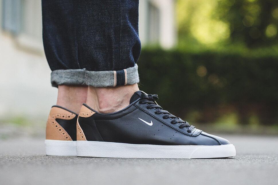 Nike Match Classic Suede Tan homme 844611-001 noir blanc Vachetta Tan Suede chaussures 3f2f8f