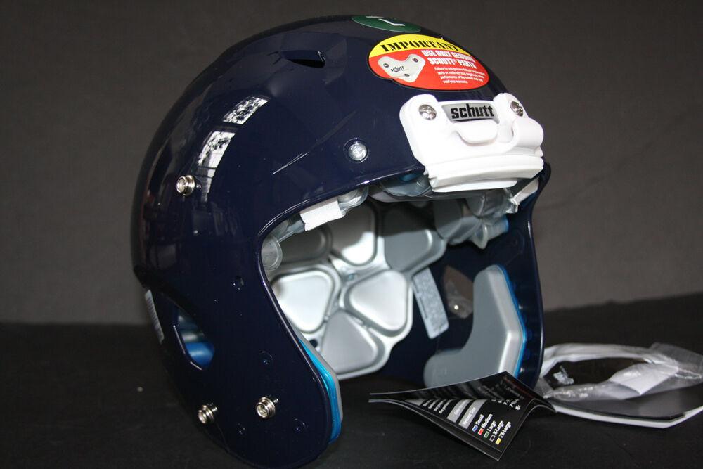Schutt ADULT Football Helmet 2013 VENGEANCE Bears Rams Pro Gloss NAVY Game Rare