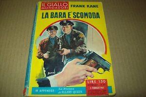 IL-GIALLO-MONDADORI-N-627-FRANK-KANE-LA-BARA-E-039-SCOMODA-5-FEBBRAIO-1961