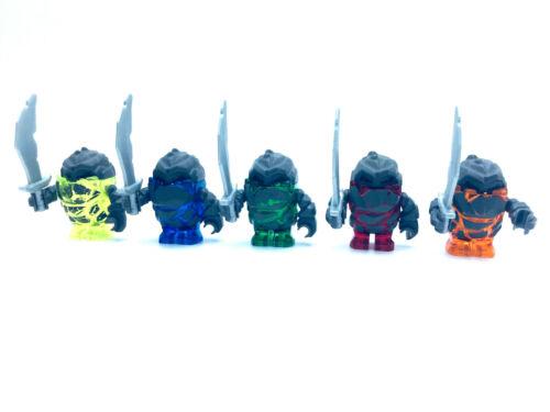 LEGO ® Power Miners personaggio meltrox boulderax firox sulfurix Glaciator l051