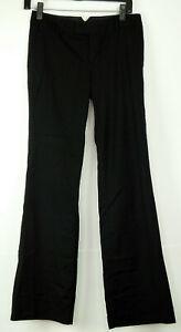 Calvin-Klein-Black-Boot-Cut-Stretch-Trousers-Dress-Pants-2