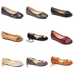 ffa970167 New Womens Lady Designer Comfort Slip On Ballet Flats Many Colors ...