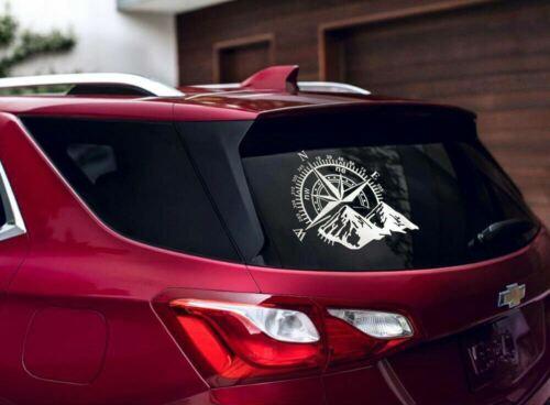 Universal Compass Rose Navigate Vinyl Sticker Car Truck Offroad KK Decal Sticker