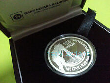 Malaysia JUPEM Single Silver Proof Coin 2010
