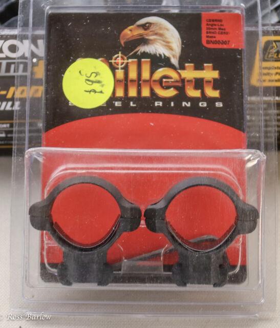 Millett Steel Rings CZ/BRNO 30mm Medium Matte BN00007