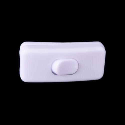 3pcs High Quality 303 Table Lamp Desk Light Control Switch white push button SG
