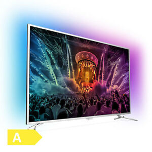 "Philips 55"" UltraHD 139cm 4k Smart DVB-T2 HD 3-fach Ambilight Android TV"