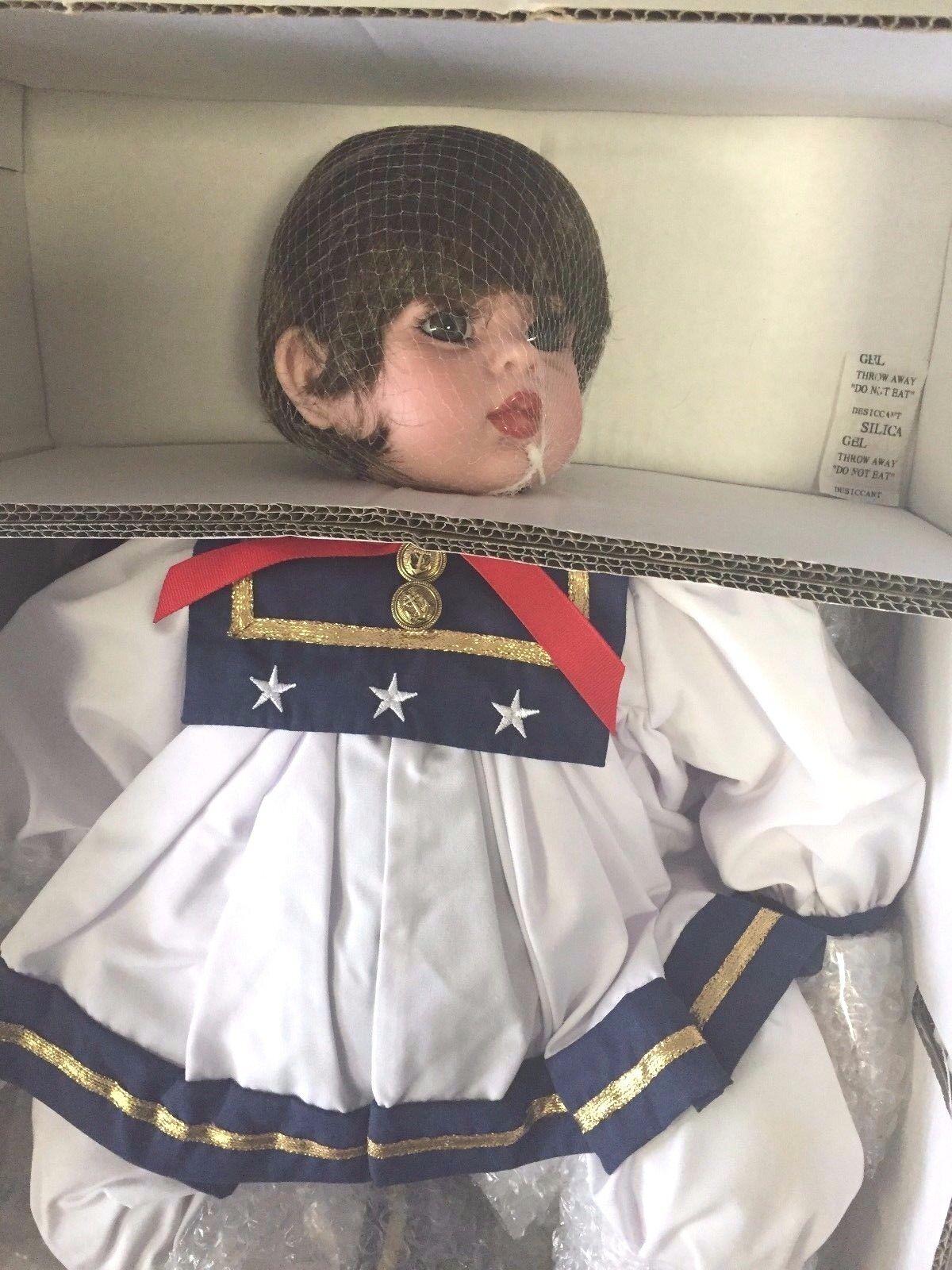 Precious Heirloom Dolls Fayzah Spanos Collection  All American Jolie  NIB