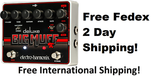 New-Electro-Harmonix-EHX-Deluxe-Big-Muff-Pi-Distortion-Fuzz-Overdrive-Pedal