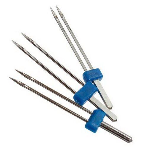 3X 3pcs Double Twin Needle: 2.0//90 3.0//90 4.0//90 Needles Sewing hine Q4F2