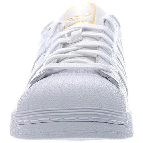 Cuero Hombre Blanco Superstar Adidas Zapatillas Aq6686 Informales r8I8vqSw