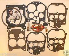 1986 87 88 89 90 Rochester Quadrajet Carburetor Kit E4ME HD Pump Blended Fuel