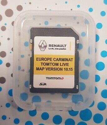 Renault TomTom Carminat Live V10.15 Navegación Tarjeta SD Mapa 2019-2020 !! nuevo!!