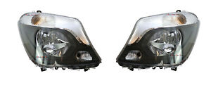 *NEW* HEAD LIGHT LAMP (HALOGEN) suit MERCEDES BENZ SPRINTER 2013-2018 PAIR LH+RH