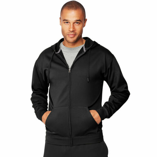 Hanes Sport™ Men/'s Performance Fleece Zip Up Hoodie