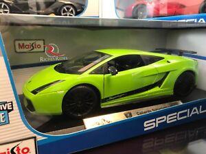 Image Is Loading RARE Maisto 1 18 Scale Diecast Model Lamborghini