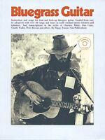 Bluegrass Guitar Sheet Music Book And Cd 014004656