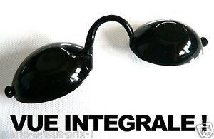 6ba9c56231 Incroyable LUNETTES pour solarium VUE INTEGRALE ! anti UV normes CE ...