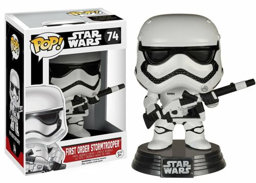 Funko Pop Brand New Vinyl  Star Wars Stormtrooper /& Blaster #74 Exclusive