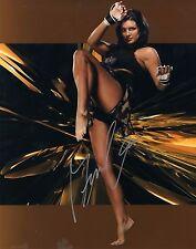 Gina Carano Actress MMA Strikeforce Look Signed 8x10 Autographed Photo COA GD 02