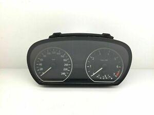 BMW-1-Serie-E87-Km-H-Compteur-de-Vitesse-Instrument-Cluster-Speedo-9110191