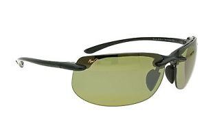 32077152b88 Banyans MAUI JIM Polarised Sunglasses   Case HT 412 02 Smoke Grey ...