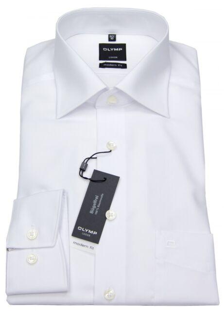 Olymp Hemd Modern Fit Luxor weiß