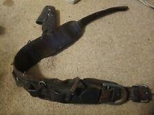 Used Wm Bashlin Co Linemans Working Tool Belt