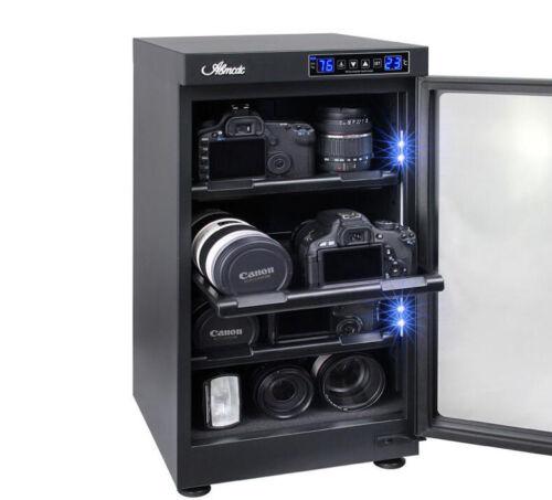 50L aggiornamento Touch Screen digitale deumidificare asciutto armadio Box per Obiettivo Fotocamera Reflex