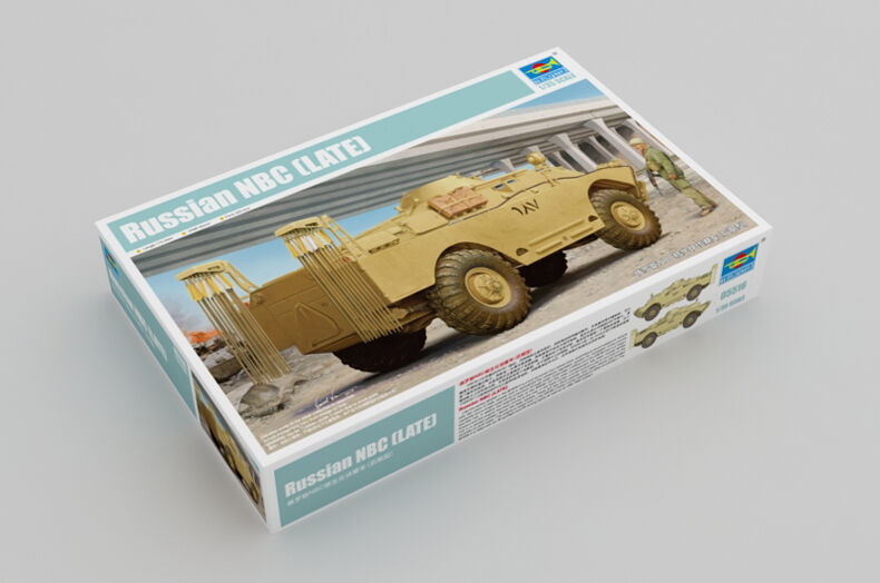05516 Trumpeter 1 35 Model NBC Late Reconnaissance Vehicle Tank Armored Car Kit