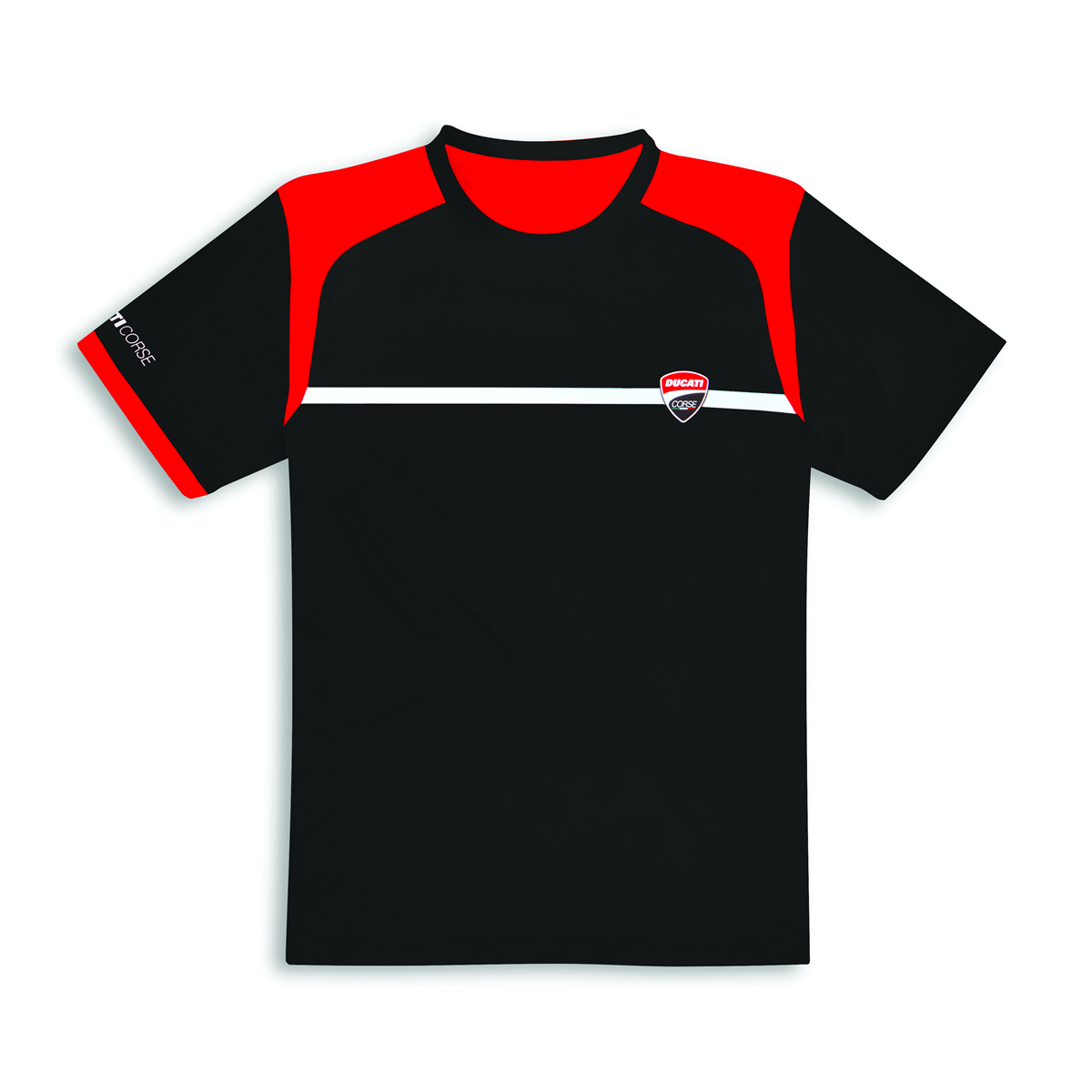 DUCATI CORSE POWER T- Shirt kurzarm Herren man shirt SCHWARZ  98769906  NEU 2019