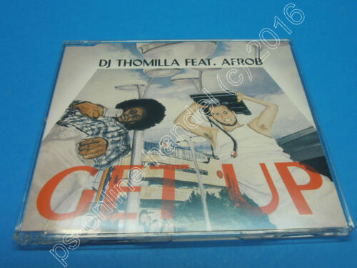 "1 von 1 - 5"" Single CD DJ Thomilla feat. Afrob - Get up (J-045) 4 Tracks Germany 2000"