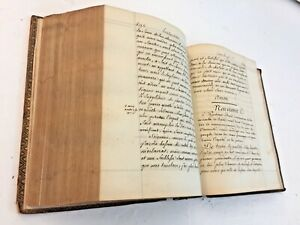 1772 Moral Religion Liturgy Communion Manuscript Handwritten Calligraphy 830 pp