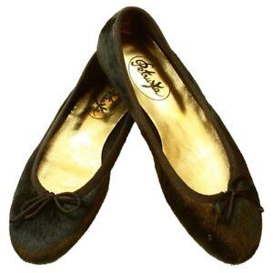 Ballerina Schuhe Slipper aus echtem Fell in Schwarz - Ballerinas Timbuktu - Arnstadt, Deutschland - Ballerina Schuhe Slipper aus echtem Fell in Schwarz - Ballerinas Timbuktu - Arnstadt, Deutschland