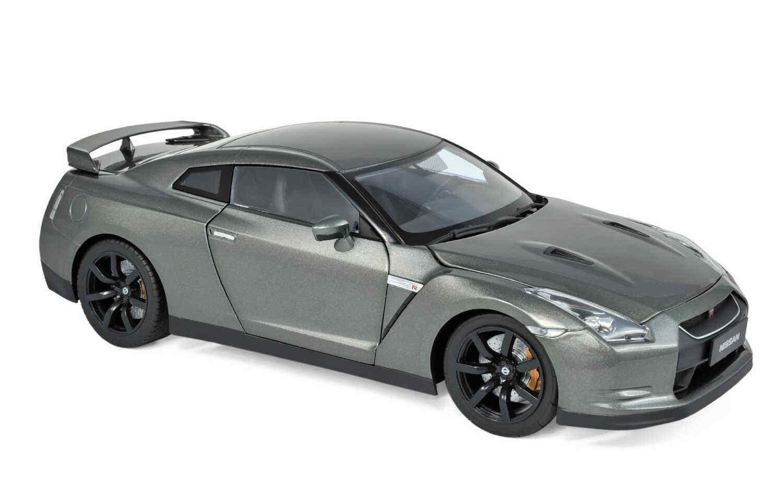 Norev 188053 Nissan GTR R-35 2008 dark grey metallic 1 18 Neu OVP