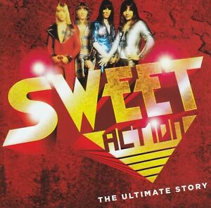 SWEET-2-CD-ACTION-THE-ULTIMATE-STORY-GREATEST-HITS-BEST-OF-70-039-s-NEW