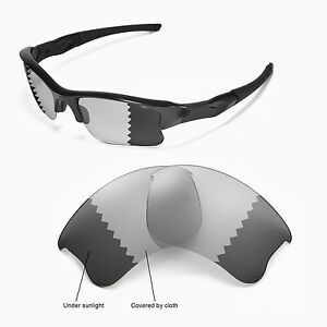 b0ef314cf1 Image is loading Sure-Polarized-Photochromic-Grey-Replacement-Lenses-for- Oakley-