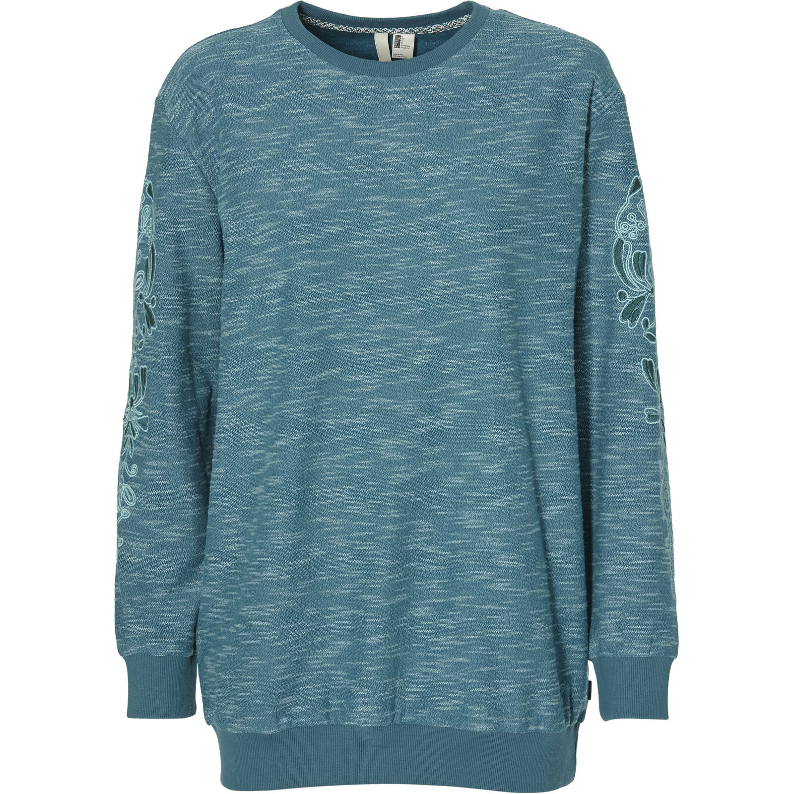 O'Neill Sweatshirt Sweater Sugar Pine Print Crew Sweat blue meliert
