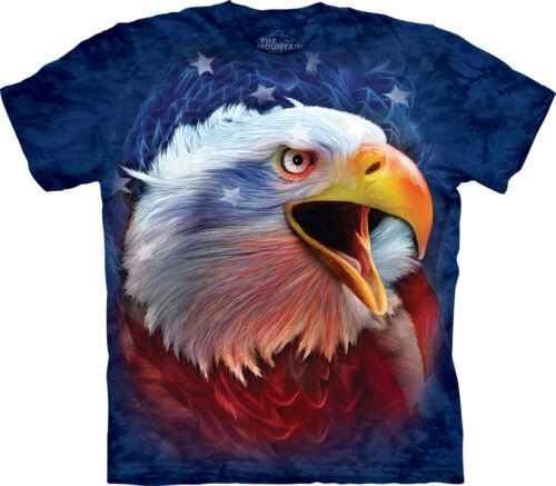 The Mountain Revolution Eagle Amerika USA Patriotisch Erwachsenen T-Shirt 104014