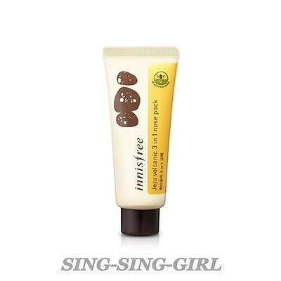 Innisfree Jeju Volcanic 3 in 1 Nose Pack 40ml sing-sing-girl